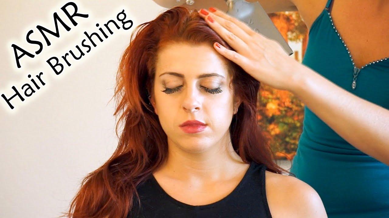 Wow ASMR Hair Brushing Head Massage w Hair Play Soft