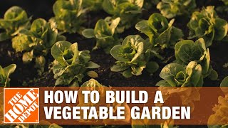 How To Build Your Own Vegetable Garden