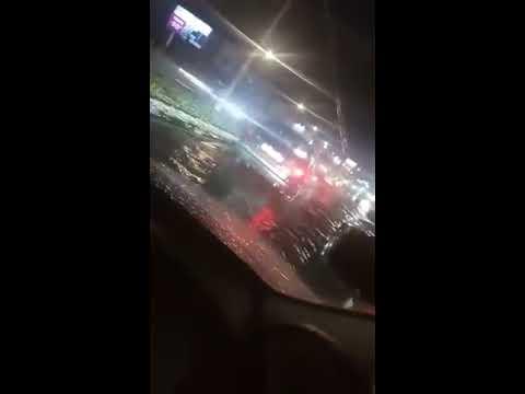 Затопленные улицы Улан-Удэ
