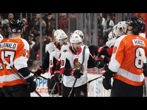Philadelphia Flyers vs Ottawa Senators, 03 february 2018