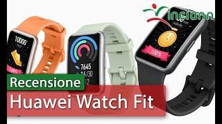 Recensione: Huawei Watch Fit : bello con GPS e video corso allenamento