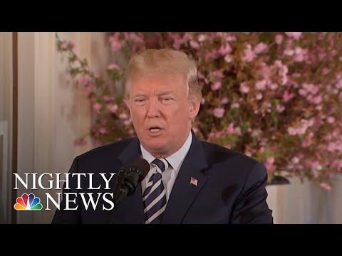 President Trump: If I Were Embattled VA Nominee Ronny Jackson, I'd Withdraw | NBC Nightly News