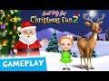 Xmas Tree Decor & Snowman Building⛄Sweet Baby Girl Christmas Fun 2 Gameplay   TutoTOONS Kids Games