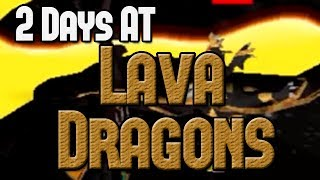 Loot From 2 Days at Lava Dragons!
