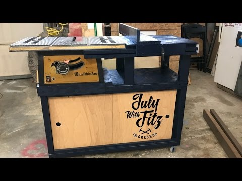 JWF-TABLE SAW CABINET!