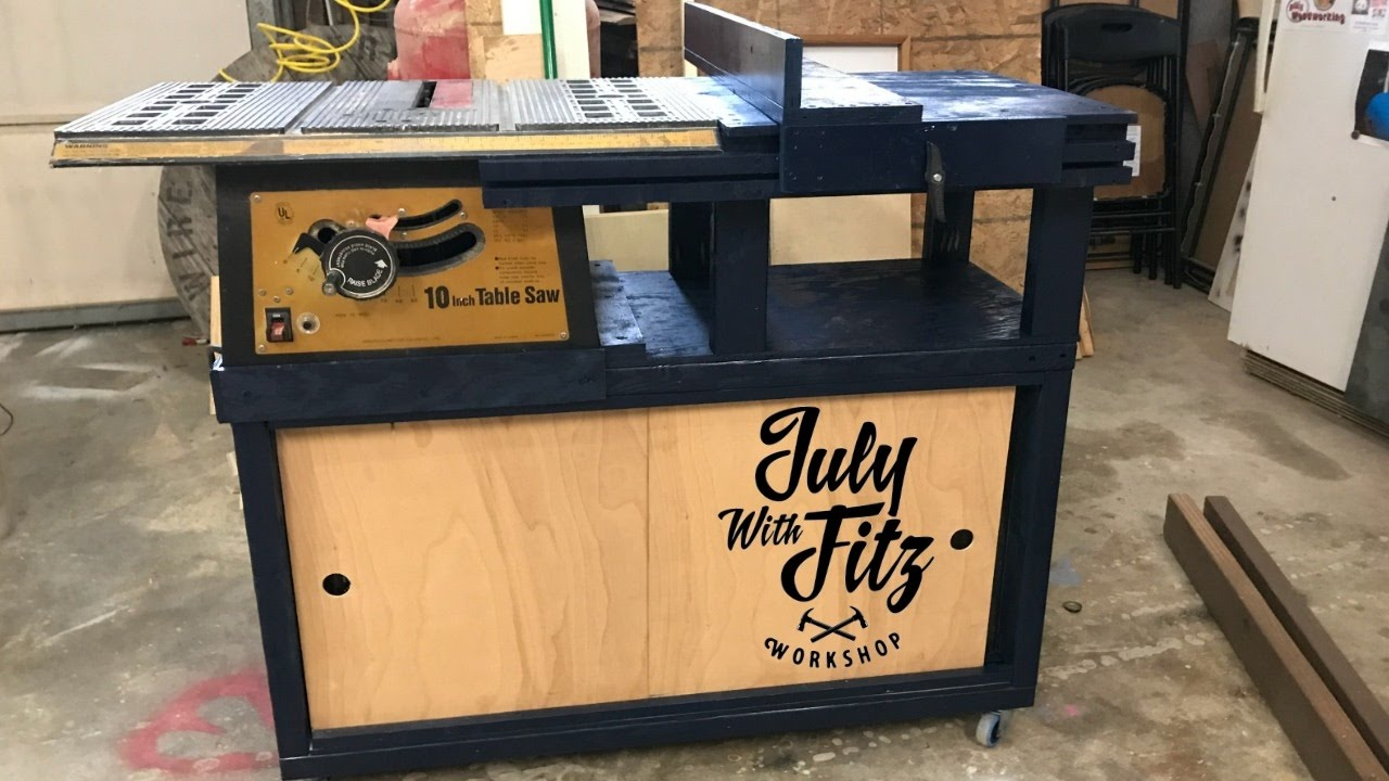 Jwf Table Saw Cabinet Doovi