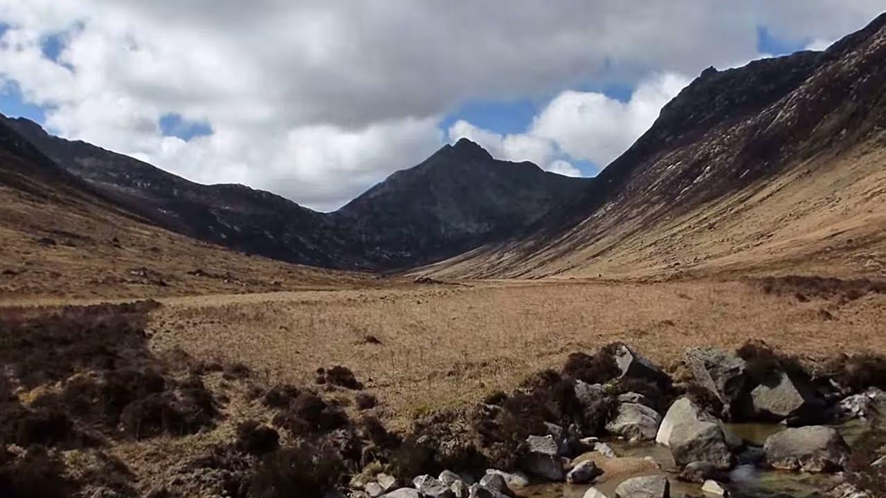Wild Camping Scotland Glen Sannox Isle Of Arran Bushcraft ...