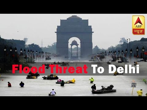 Haryana's Hathnikund Barrage Releases Water, Posses Flood Threat To Delhi