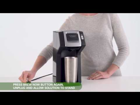 How to clean your FlexBrew coffee maker for optimal brewing performance