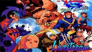 Going full dumb / X-men vs. Street Fighter