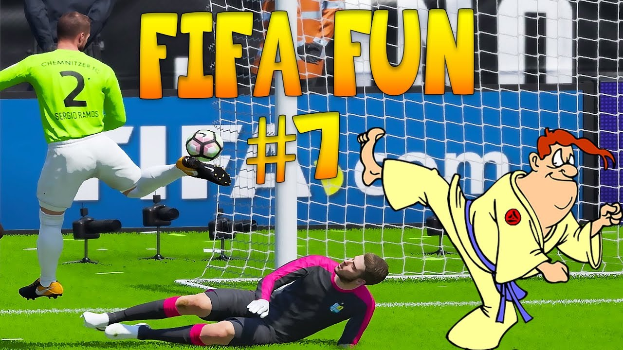 Fifa 18 Funny Fails #7 - Deflections, Misses and Players Fails