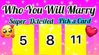 PICK A CARD- WHO YOU WILL MARRY- SUPER DETAILED- APKI SHADI KISSE. KAB HOGI-- MWT اچھی خبر