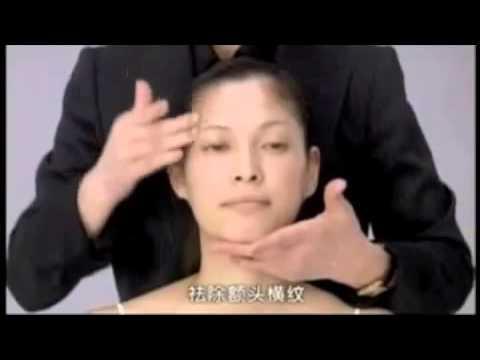 Японский массаж лица Русский!) [Yukuko Tanaka u0027s Face massage] (1)