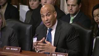 Repeat youtube video Booker Challenges EPA Nominee Scott Pruitt on Environmental Record (Part 1 of 3)