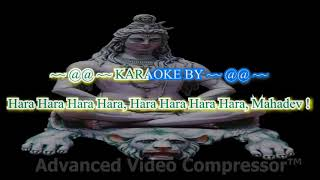OM SHIVO HUM KARAOKE WITH LYRICS BY RAMESHKUMAR G AVARANNAVAR