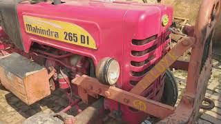 किसान के लिए लकी Mhindra 265 DI ट्रैक्टर