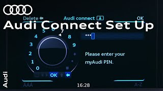 Setting up Audi connect