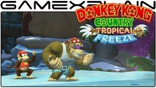 Donkey Kong Country: Tropical Freeze - Meet the Kongs Trailer (DK & Funky)