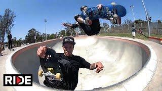 Tony Hawk + Felipe Nunes - Incredible Double Amputee Skateboarder