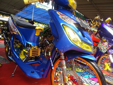Modif Motor Mio Sporty Thailook Street Racing Contest Terbaru
