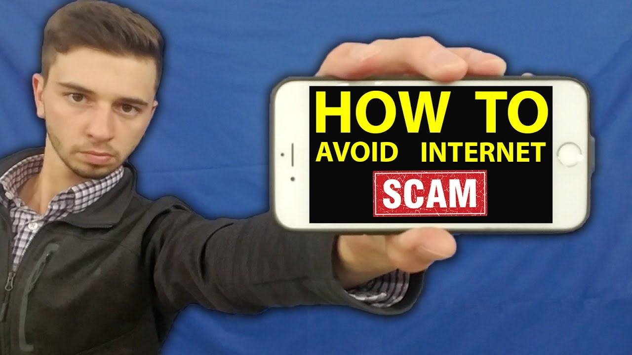 How To Avoid Internet Scams Youtube