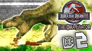 T.rex Eat My Butt! Jurassic Park III The DNA Factor (GBA)  [ Jurassic Park Month ]