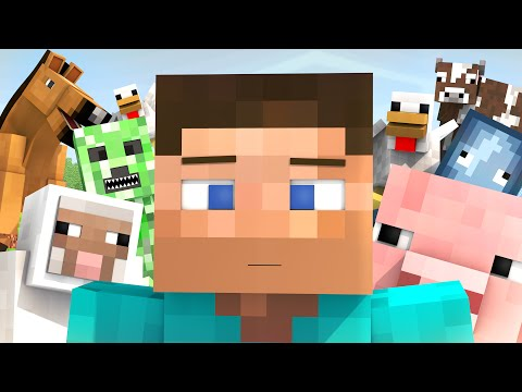 When Steve isn't online 2: Party Animals (60fps Minecraft Animation)