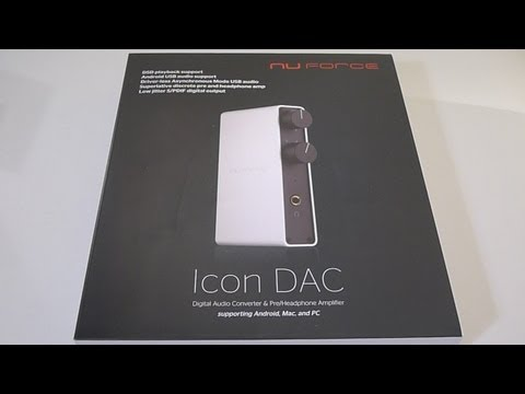 First Look: Nuforce Next Generation IconDAC Mp3