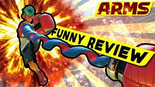 ARMS FUNNY REVIEW [ Deutsch | German | Funny Moments | Nintendo Switch | Unterhaltungs-Review ]