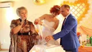 Оранжевая свадьба  с  ярко оранжевым настроением!!!  Ведущая  Наталья  Пусеп.