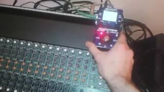 Using a Guitar FX Pedal as External FX on a Mixer