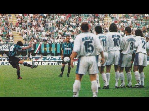 Inter 2 1 Brescia Campionato 1997 98 Youtube