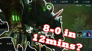 DOMINATING THE JUNGLE WITH WARWICK | Lolph