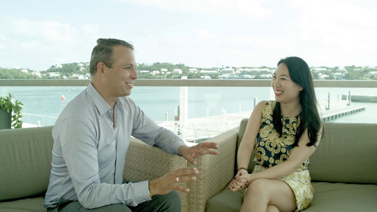 Bermuda Innovation Sprint: Stan Stalnaker and Fennie Wang, COO, Open Water Capital and Co-founder, IXO Foundation