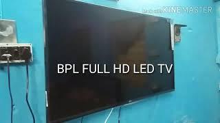 BPL 40 INCH FULL HD LED TV