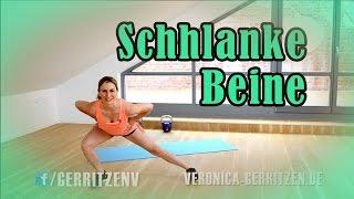 MYTHOS Innenseite Oberschenkel | SCHLANKE BEINE | Übungen für zu hause & Gym | VERONICA-GERRITZEN.DE