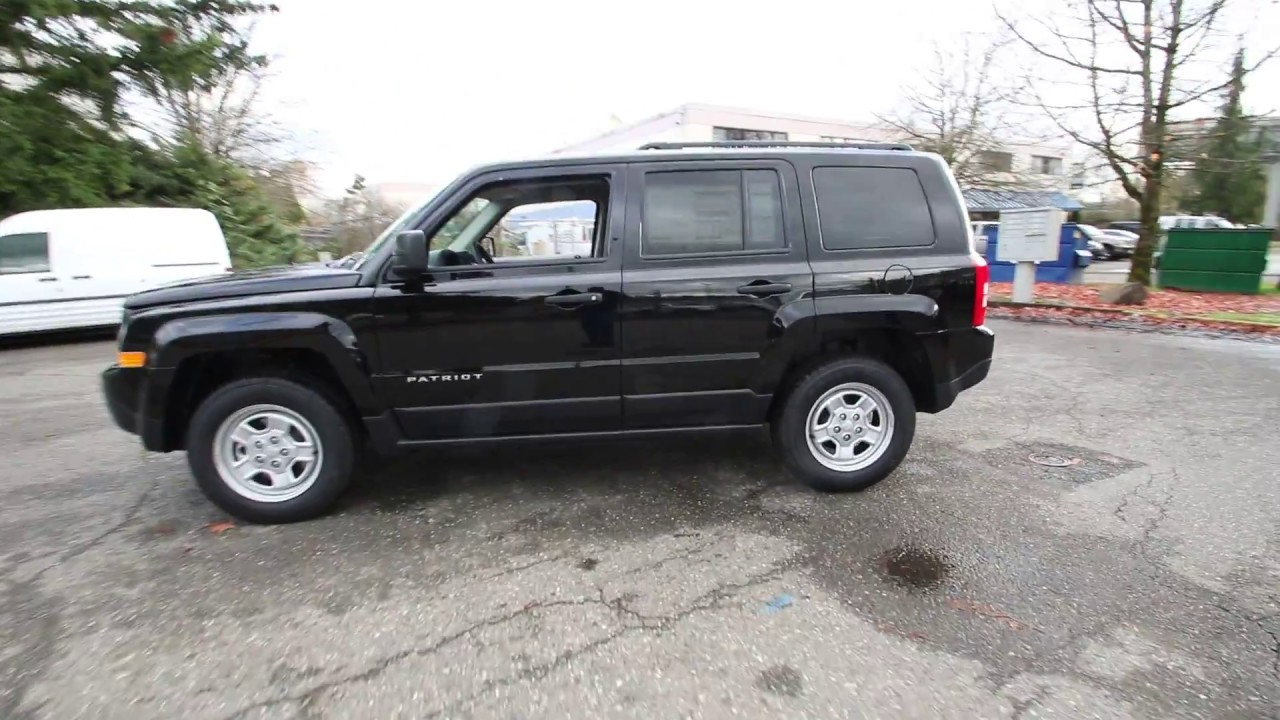 2017 Jeep Patriot Sport Black Clearcoat Hd153591 Redmond Seattle