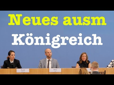 8. August 2018 - Bundespressekonferenz - RegPK