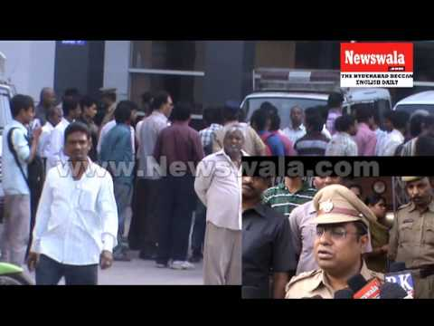 Satyanarayana died due to heart attack at Chaderghat Police station