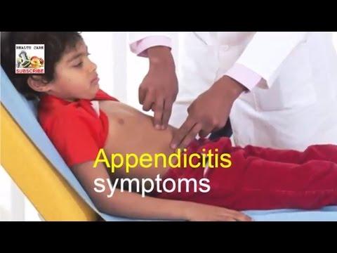 Appendicitis symptoms \ diagnose appendicitis \ how to recognize appendicitis symptoms in children!