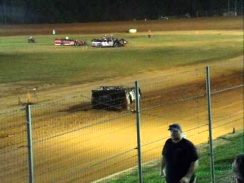 brandon overton qualifying at modoc 6-13-2015
