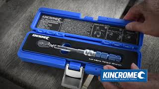 KINCROME Micro Click-Type Torque Wrench