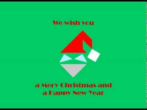Tangram Animation Christmas Santa Claus YouTube