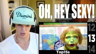 HALLOWEEN SPECIAL: Top 15 Scariest YouTube Videos [With Links] (#2) REACTION Pt.1