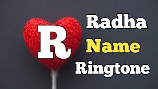 """Radha Name Ringtone    """"R"""" Letter Ringtone    Name Ringtone    Sani Paswan"""