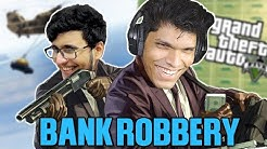 Funniest BANK ROBBERY in GTA 5 with @Live Insaan
