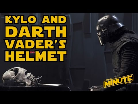 This short story may reveal the secret of how Kylo Ren ended up with Darth Vader's helmet
