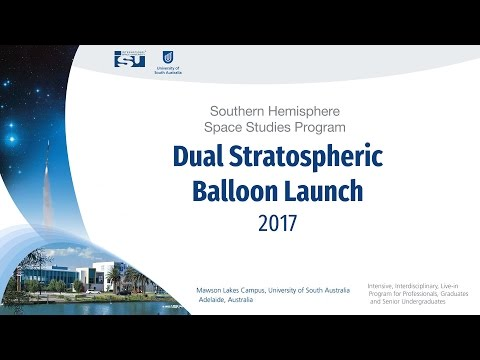 SHSSP17: Dual Stratospheric Balloon Launch Webcast