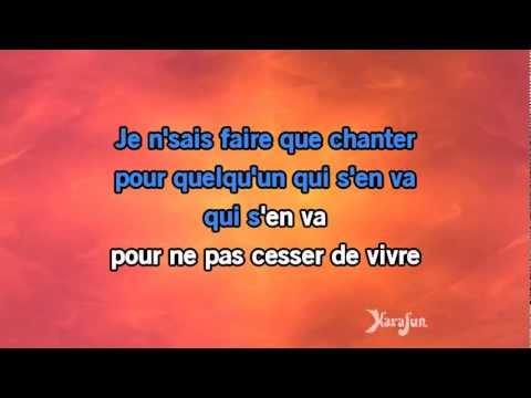 Karaoké Chanter - Florent Pagny *