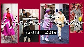 Winter 2019 Hijab Trends With Naziha | صيحات ملابس المحجبات لشتاء 2019 مع نزيهة